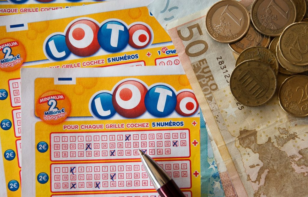 Einsätze bei verschiedenen Lotterien